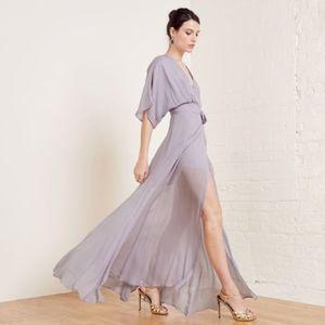 Reformation Winslow wrap dress